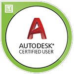 badge numerique certification Autodesk